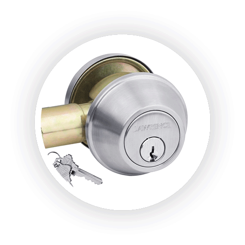 Lowest prices on Lawrence door hardware