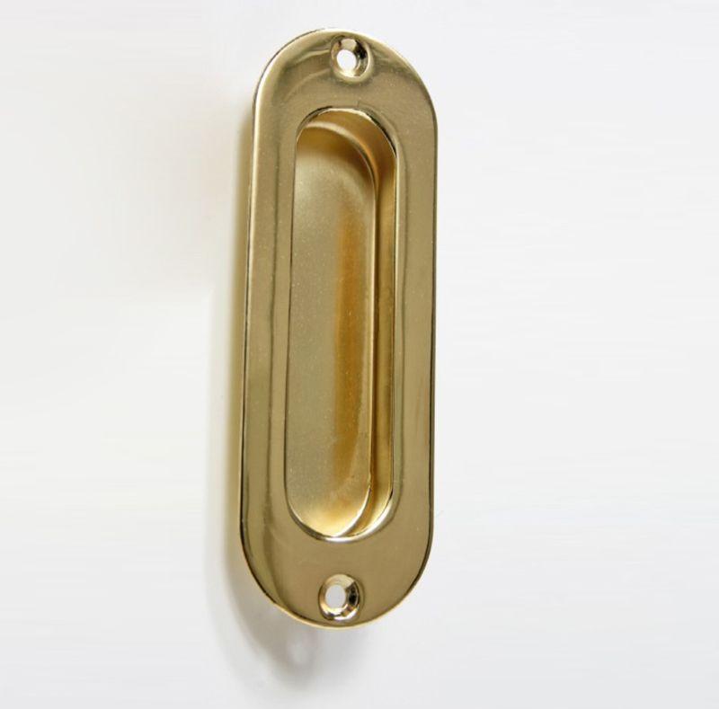 Solid Brass Finger Pull For Pocket Door Door Hardware