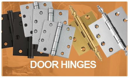 Home Builders Hardware Quality Architectural-Grade Hinges